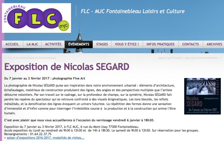Nicolas Ségard FLC 2017