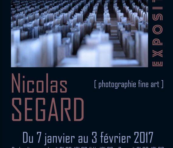 Nicolas Ségard exhibition poster affiche expo FLC 2017