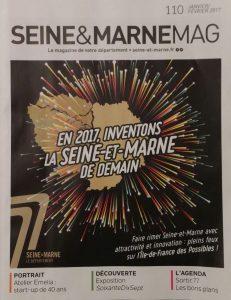 Photographies fine art de Nicolas Ségard Article dans Seine et Marne magazine n° 110 de Janvier-février 2017 Exposition FLC Fontainebleau