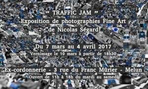 photographies Traffic Jam exhibition's visual