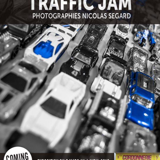 Nicolas Segard Traffic Jam exhibition official poster