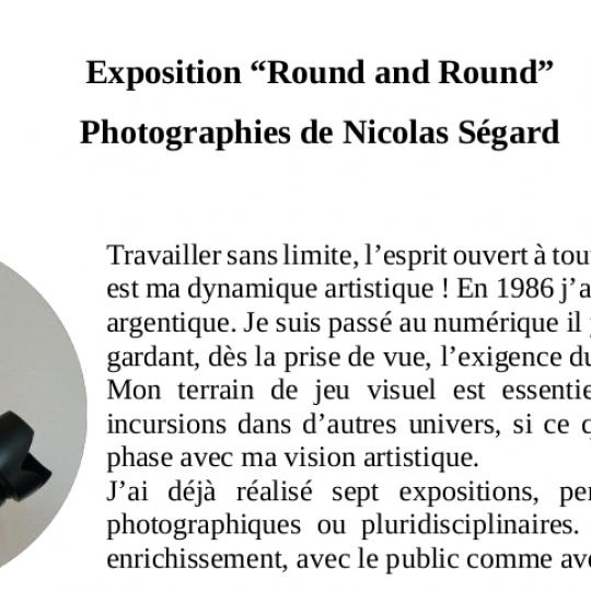 Fiche de présentation Nicolas Ségard (extrait)