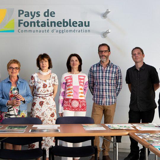 Nicolas Ségard jury concours photo Fontainebleau 2019