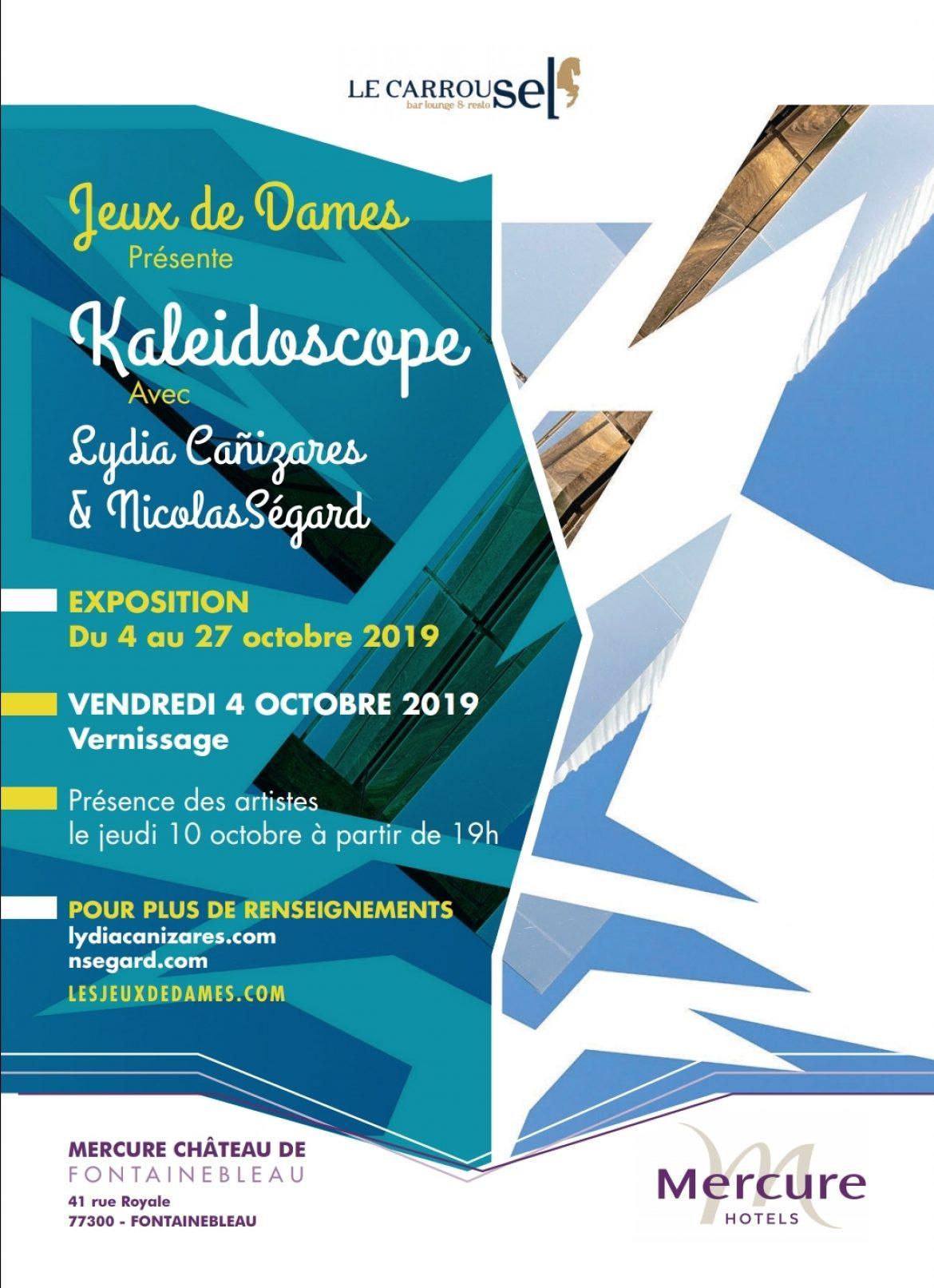 Kaleidoscope Lydia Canizares Nicolas Segard Hotel Mercure Fontainebleau