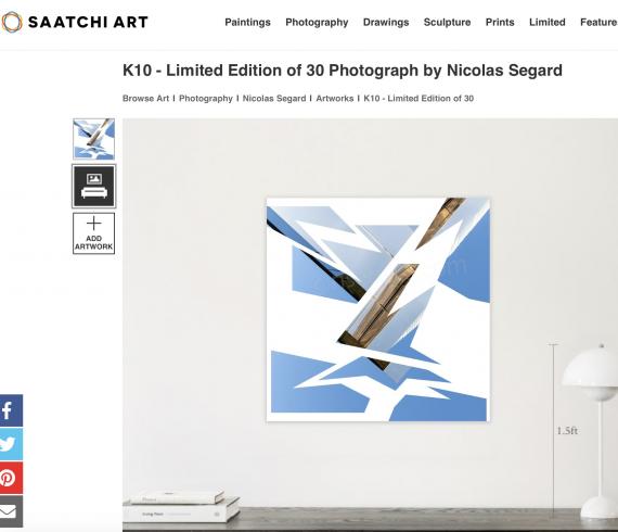 Nicolas Segard Saatchi Kaleidoscope K10