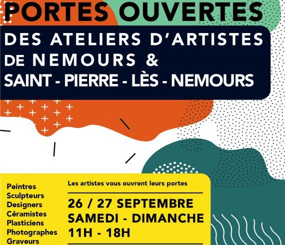 POrtes ouvertes ateliers artistes Nemours 2020